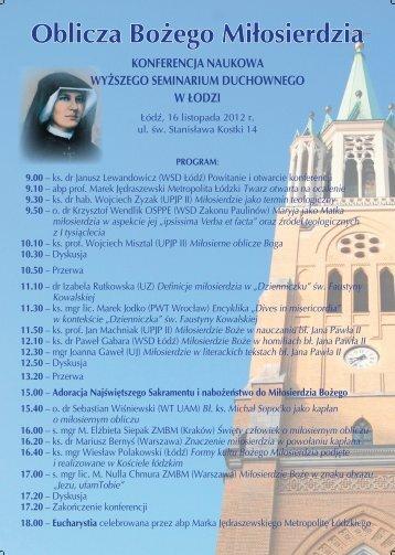 Plakat - Uniwersytet Papieski Jana Pawła II