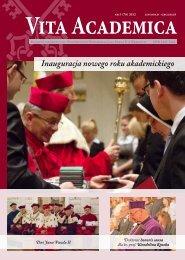 Vita Academica 5(70) - Uniwersytet Papieski Jana Pawła II