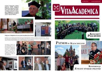Vita Academica 4(64) - Uniwersytet Papieski Jana Pawła II