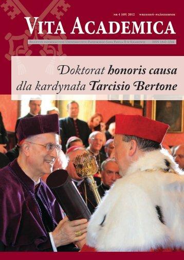 Vita Academica 4(69) - Uniwersytet Papieski Jana Pawła II
