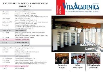 Vita Academica 5(59)2010 - Uniwersytet Papieski Jana Pawła II