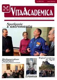 Vita Academica 2(62) - Uniwersytet Papieski Jana Pawła II
