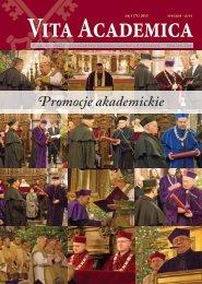 Vita Academica 1(71) - Uniwersytet Papieski Jana Pawła II