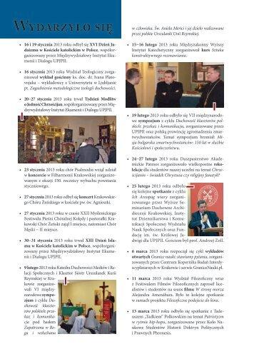 Vita Academica 2(72) - Uniwersytet Papieski Jana Pawła II