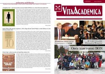 Vita Academica 2(67) - Uniwersytet Papieski Jana Pawła II