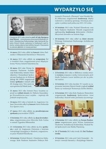 Vita Academica 3(73) - Uniwersytet Papieski Jana Pawła II