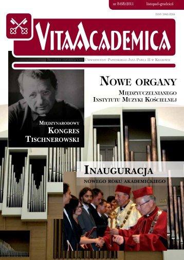 Vita Academica 5(65) - Uniwersytet Papieski Jana Pawła II