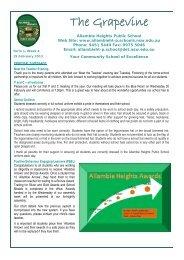 The Grapevine 19 February 2013 - Allambie Heights Public School