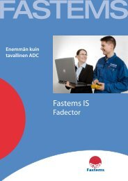 DB dector Palvelin - Fastems