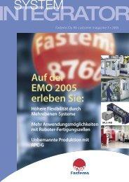 Wir sehen uns auf der EMO! Hannover, 14-21.09.2005 ... - Fastems