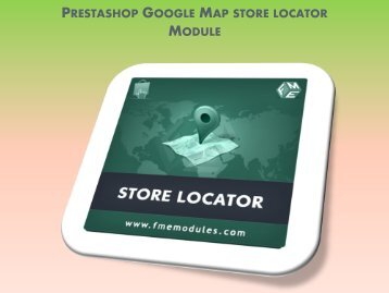 PrestaShop 1.5 Google Map Module