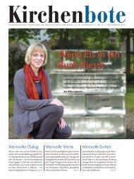 Thurgauer Kirchenbote November 2013 - Evangelische ...