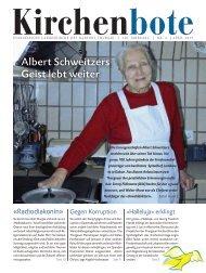 Thurgauer Kirchenbote April 2013 - Evangelische Landeskirche des ...