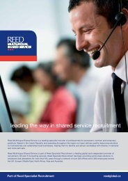 leading the way in shared service recruitment - Expats.cz