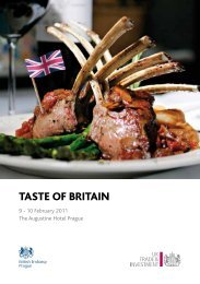 TASTE OF BRITAIN - Expats.cz