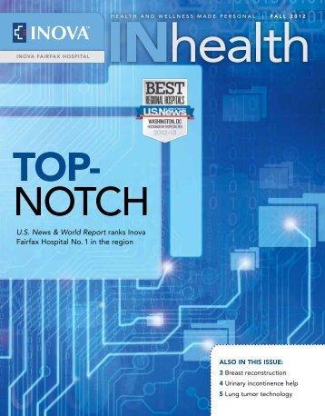 m fall 2012 - Inova Health System