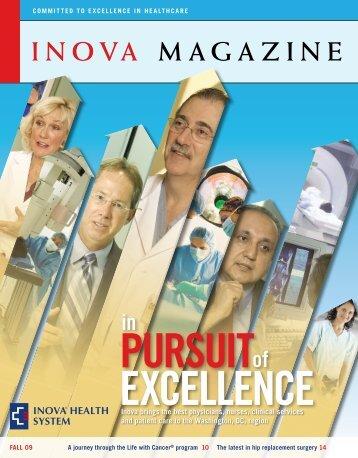 Inova Magazine – Fall 2009 issue - Inova Health System