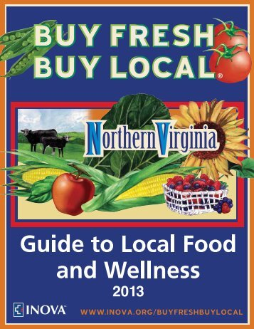 Buy Fresh, Buy Local guide - Inova Health System