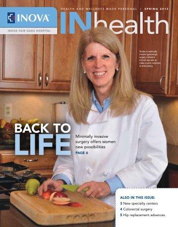 Back to - Inova Health System