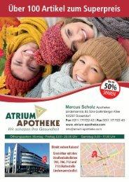 Angebote der Atrium Apotheke in Düsseldorf