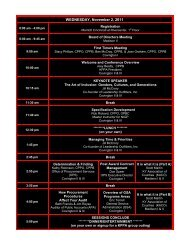 Donwload the complete conference agenda here. - Kentucky Public ...
