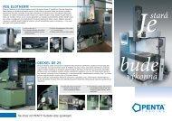 PENTA CNC Inovace - prospekt ke stažení (285 kB)