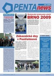 PENTA News – 2009/09 - PENTA TRADING sro