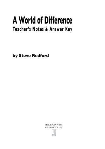 Teacher's Guide - Perceptia Press