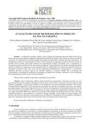 AVALIAÇÃO DO USO DE MICROEMULSÕES NA ... - ABPG