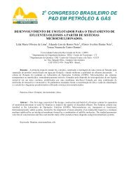 2 CONGRESSO BRASILEIRO DE P&D EM PETRÓLEO & GÁS - ABPG