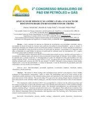 2 CONGRESSO BRASILEIRO DE P&D EM PETRÓLEO e GÁS - ABPG