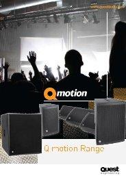 Q Motion Sales Brochure - Power Audio