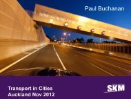 See Paul Buchanan's presentation here - Auckland Transport