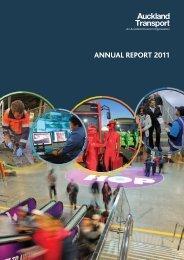 ANNUAL REPORT 2011 - Auckland Transport