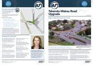 Taharoto-Wairau Road Upgrade - Auckland Transport