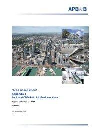 Appendix I - NZTA Assessment - Auckland Transport