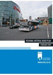 Regional Arterial Road Plan 2009 - Auckland Transport