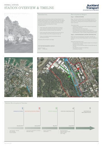 details of the proposed development along with maps and illustrations