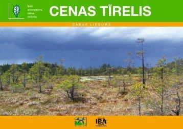 CENAS TĪRELIS - Dabas aizsardzības pārvalde