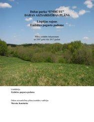 Embūtes dabas parks - Dabas aizsardzības pārvalde