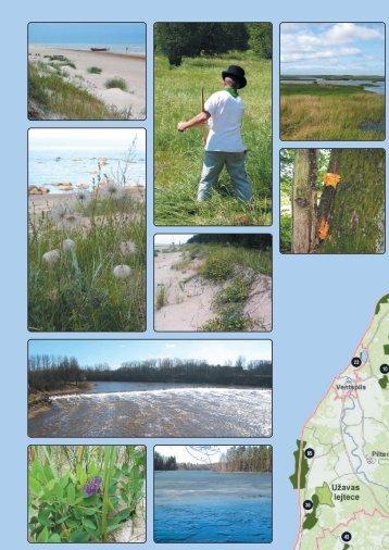 Iepazīsti Natura 2000 teritorijas Latvijā - Dabas aizsardzības pārvalde