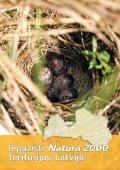 Iepazīsti Natura 2000 teritorijas Latvijā - Dabas aizsardzības pārvalde - Page 4