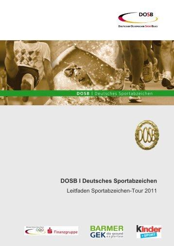 DOSB I Deutsches Sportabzeichen - Der Deutsche Olympische ...