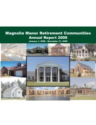 Magnolia Manor Retirement Communities