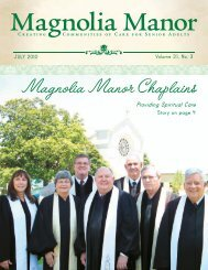 Magnolia Manor Chaplains