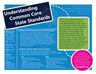 Common Core State Standards Backpack Flyer - Oswego County ...