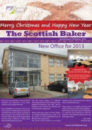 Download Newsletter - Scottish Bakers