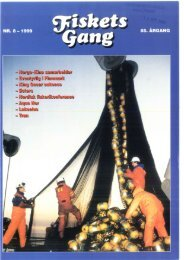 Fiskets Gang. Nr 8. 1999 - Havforskningsinstituttet