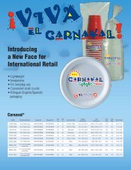 International Retail Offering: Carnaval - Solo Cup