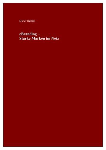 e-Branding – starke Marken im Netz - Prof. Dr. Dieter Georg Herbst